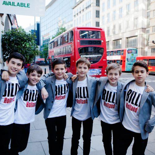 Persreis naar Londen voor de Billys